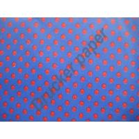China blue dot tissue paper on sale