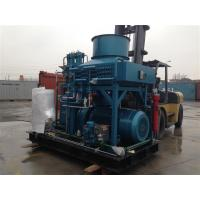 Nitrogen booster gas compressor