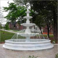 Buy cheap Natural Stone Garden Three Layer Water Fountain product