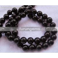 China Stock Beads / Ready Items black onyx/agate 8mm round beads good quality ItemFR1166 on sale