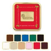25037 | Brass Square Coaster | Jaffa