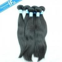 Buy cheap Remy Hair weaving 7A Malaysian virgin hair straight human hair 10pcs/pack free shipping product