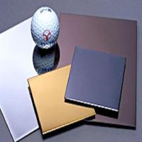 Buy cheap No.8 super mirror pvd coated stainless steel panels product