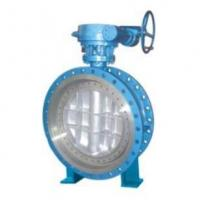 Buy cheap Butterflyvalveseries  Gear Box Flanged Type Metal Sealing Butterfly Valve product