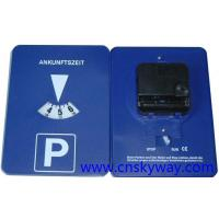 Buy cheap Automatic parking disc clock from wholesalers