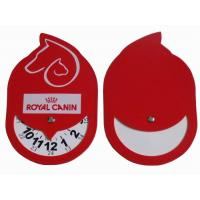 Buy cheap ParkingDiscs Product nameCustomized PVC leather parking disc as promotional gifts from wholesalers