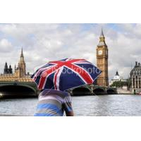 China promotion umbrellas Transfer print England flag umbrella wholesale