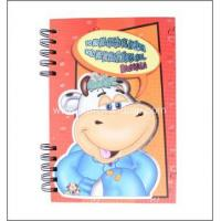 Spiral Binding Notebook Hardcover Spiral Double Wire-O binding Notebook