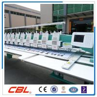 China Model:CBL 15 heads 9 needles flat computer embroidery machine hot sale in China on sale