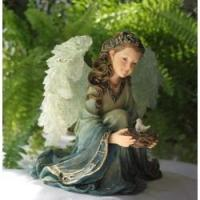 Buy cheap Polyresin Solar Lamp Polyresin Angel product