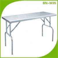 Buy cheap Steel Tables Custom Cut Commercial folding Kitchen Industrial Cheap product