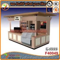 Best seller shopping mall coffee kiosk design coffee shop kiosk designs