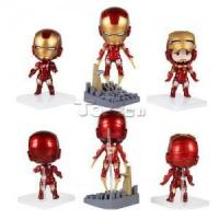 China The Avengers Iron Man 10cm PVC Action Figure Model Collectible Toy on sale
