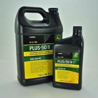 China John Deere Plus-50 II Synthetic Blend Motor Oil 0W-40 - Quarts = TY26665 - Gallons = TY26664 on sale