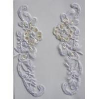 "China 8.25"" BRIDAL APPLIQUE WHITE wholesale"