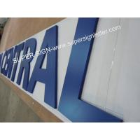 Painted acrylic sign lettering