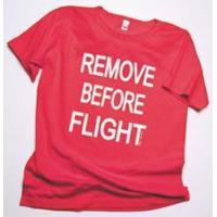 Buy cheap Remove Before Flight Ladies Scoop Neck T-Shirt product