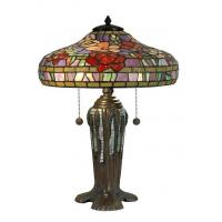 china tiffany table lamps peony tiffany replica table lamp 20 5 h. Black Bedroom Furniture Sets. Home Design Ideas