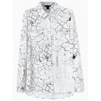 China Vintage Fracturing Print Shirt wholesale