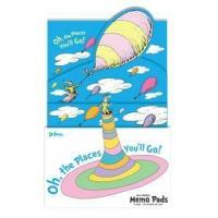 China Dr. Seuss Oh, The Places You'll Go Memo Pad Set 24 Pack on sale