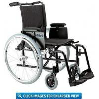 Drive Medical Cougar Ultra Lightweight Wheelchair with 16