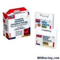 Buy cheap 50 Person ANSI and OSHA Compliance Package / CPR face-shield, latex free product