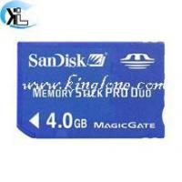 China Sandisk Memory stick pro duo 4GB on sale