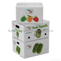 Buy cheap Fruit Corrugated Packaging Carton Boxes product