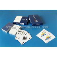 Buy cheap Playing cards Paper Playing Cards With Top Grade Material LAN (Q-44) from wholesalers