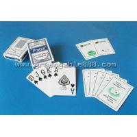 Buy cheap Playing cards Paper Playing Cards With Top Grade Material Gppa (Q-47) from wholesalers