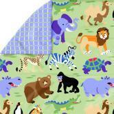 Buy cheap Wild Animals Twin Comforter product