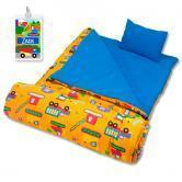 Buy cheap Under Construction Personalized Kids Sleeping Bag product
