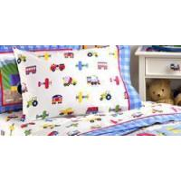 Buy cheap Trains, Planes and Trucks Toddler Sheetset product