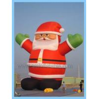 Buy cheap inflatable santa claus from wholesalers
