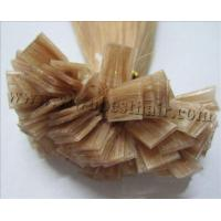 Flat-tip hair extension