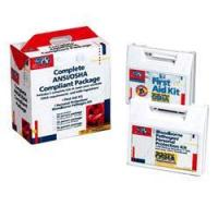 50 PERSON ANSI AND OSHA COMPLIANCE PACKAGE / CPR FACE-SHIELD, LA[228-CP]