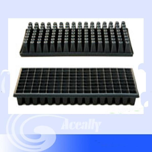 Quality seed starting;seedling supplies Garden/Gravel Trays 128cavity for sale
