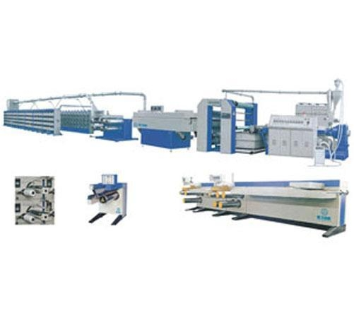 Quality PP woven bag production line spl high speed flat yarn extrusion line for sale