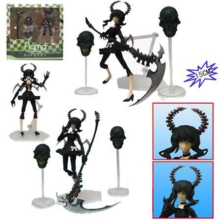 Quality figure of figma for Black Rock Shooter for sale