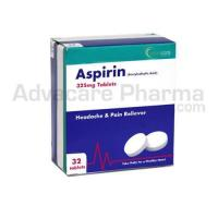 Aspirin Tablets 100mg 300mg Analgesic pain relief