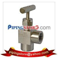 Compression Tube Fittings Angle Type Needle Valve