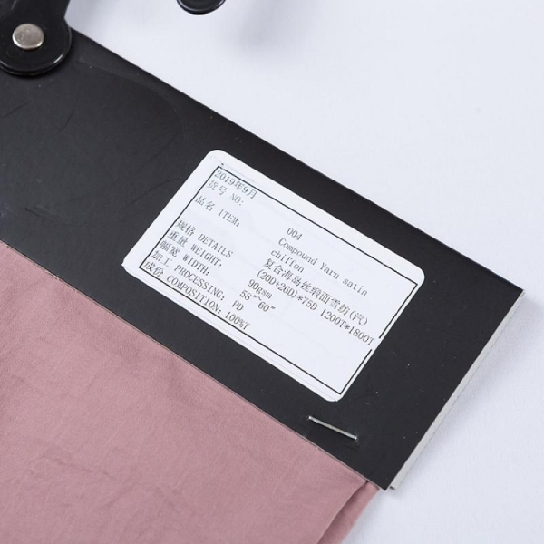 Quality 100% polyester satin stretch chiffon fabric for garment for sale