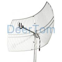 China 2.4GHz WIFI Grid Parabolic Antenna 24dBi Product No.:DT-GPA2400-24 on sale