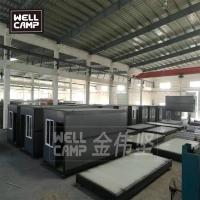 Quality Folding container house in Germany modern prefab cabins China wellcamp prefab house for sale