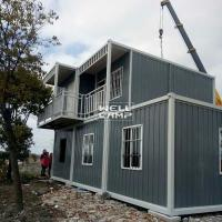 Quality Eco Friendly Two Floor Detachable Container House for Office & Living Two Story Homes-D03 for sale