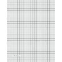 Quality Printable Graph Paper - Light Gray - Three Quarter Inch Grid for sale