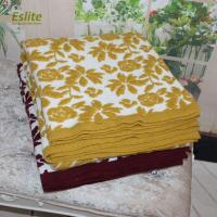 China 100%Acrylic Super Soft Sofa Knitted Jacquard Printed Throw Blanket on sale