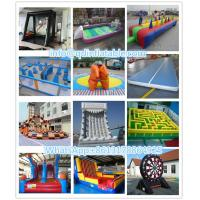 China inflatable rock climbing wall for sale from inflatable sports factory on sale
