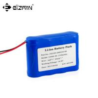Buy cheap 14.4v inflating pump battery pack 4s1p 18650 750mAh product