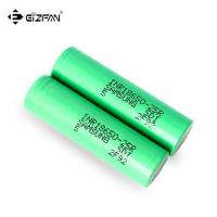 Buy cheap Samsung INR 25R 18650 battery with 2500mAh 20A continuous dicharge current for vape and battery pack product